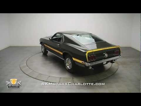 132862 / 1969 Ford Mustang Mach 1