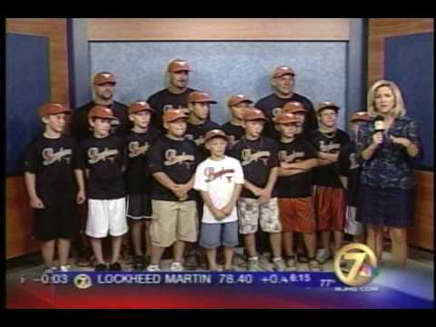 Lynn Haven Longhorn wjhg news coverage of the World Series