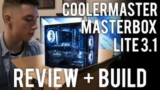 CoolerMaster Masterbox 3.1 Review and Build!