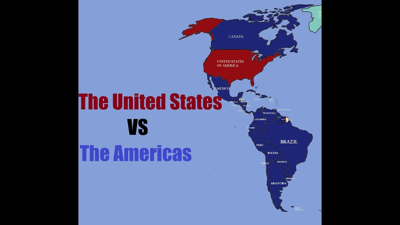 Hoi 4 States Map.The United States Vs The Rest Of America Hoi4 Best Of 5 Youtube