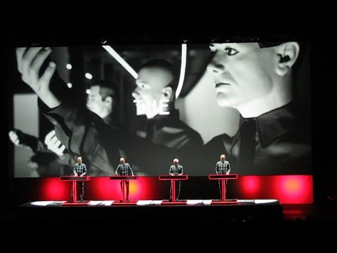 Kraftwerk - 3D Concert @ Estadio Luna Park - Buenos Aires, Argentina - 23/11/2016