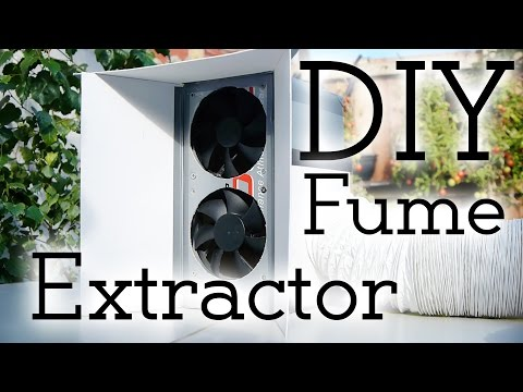 Safety first! How to make a solder fume extractor!