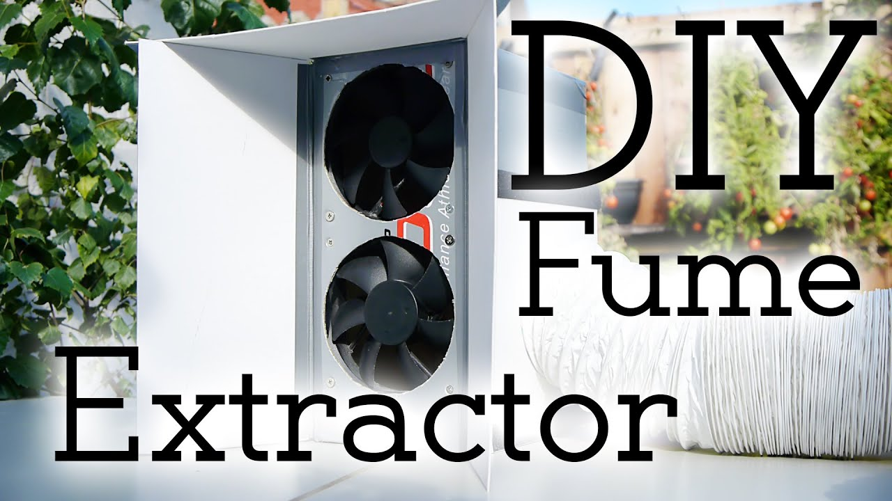 Safety first! How to make a solder fume extractor!  YouTube