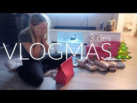 VLOGMAS // 3.desember - Simen har laget julekalender til meg + nye kjoler!