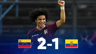 Венесуэла  2-1  Эквадор видео