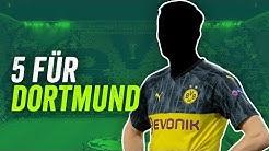 Borussia Dortmund: 10 BVB-Transfers für den nächsten Titel!