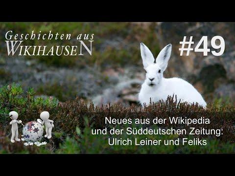 Neues aus der Wikipedia und der SZ: Ulrich Leiner und Jörg Grünewald | #49 Wikihausen