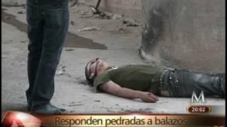 Asesinato connacional  W / Omar Limón Images Cd Juarez. Milenio TV mexico