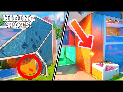 CRAZY HIDING SPOTS ON NUKETOWN YOU MIGHT NOT KNOW... *Black Ops 3 Nuketown Glitches*