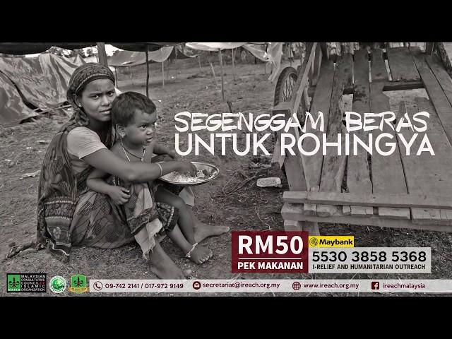 Segenggam Beras Untuk Rohingya
