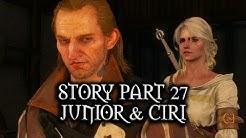 The Witcher 3: Wild Hunt - Story - Part 27 - Junior & Ciri