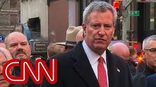 NY mayor: Attempted terrorist attack near Times Square