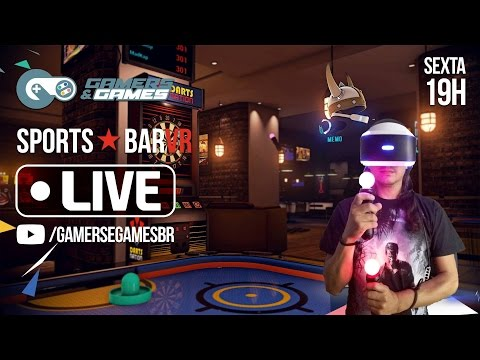 Sports Bar VR - Gamers & Games VR