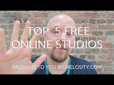Top 5 free online studios