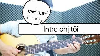 [Văn Bảo] Hướng dẫn intro chị tôi guitar