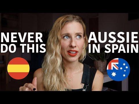 10 things you should NEVER do in Spain | Australian girl living in Spain