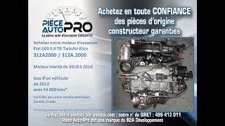 Moteur Fiat 500 0.9 TB Twin Air 85 cv 312A2000