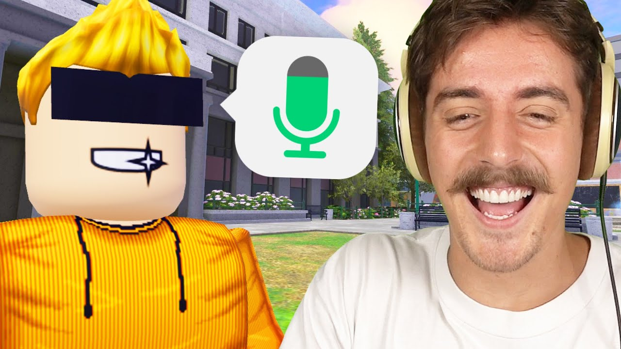Sketch gave me his Roblox Voice Chat