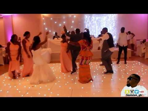 GHANAIAN WEDDING RECEPTION MR AND MRS DWAMENA 2016 @SAVIOLA4_GH