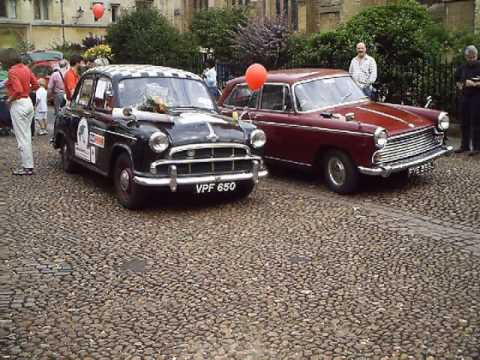 1954 MORRIS OXFORD FROM OXFORD UK-OXFORD NZ -OXFORD UK