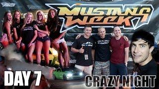 VLOG - Day 7 Mustang Week 2017 Most Crazy NIGHT Meet thumbnail