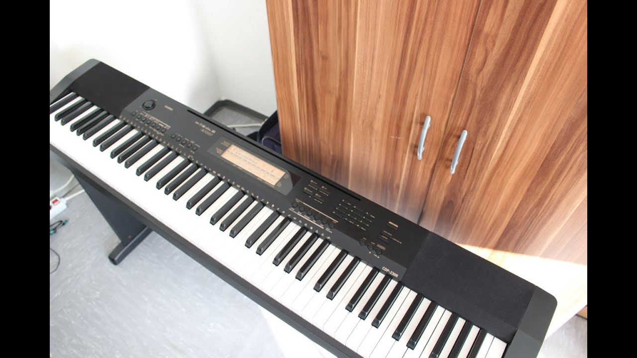 Casio CDP-235 Digital Piano Unboxing - YouTube
