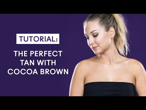 Self Tan Tutorial with Cocoa Brown