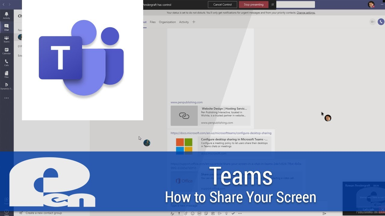 How to use Share in Microsoft Teams