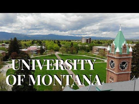 UNIVERSITY OF MONTANA (4K DRONE FOOTAGE)