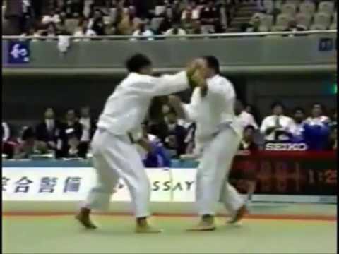 JUDO 1994 Jigoro Kano Cup: Shigeru Okaizumi (JPN) - Keith Morgan (CAN)