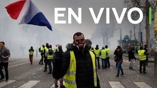 Francia encara el quinto sábado de los 'chalecos amarillos'