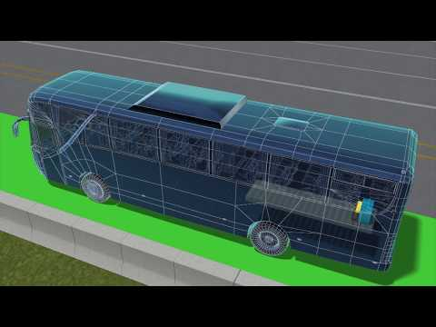 Israeli bus company invests millions in wireless charging electric roads
