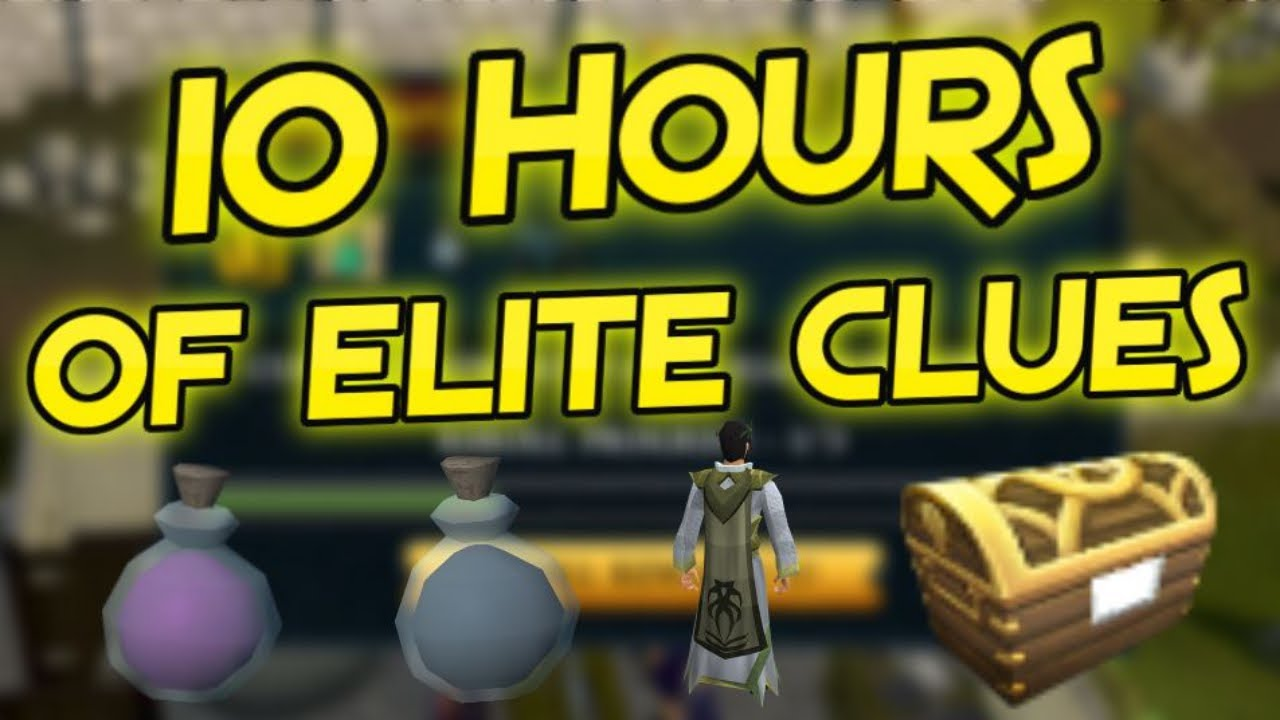 Loot From 10 Hours of Elite Clue Scrolls - Road To All Dyes Episode 149 [Runescape 3]