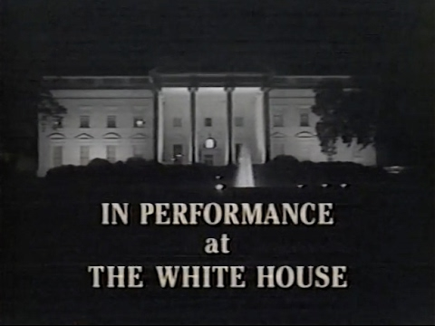 In Performance at The White House (A Salute To Broadway) 1988