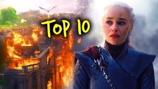 Game Of Thrones Season 8 Episode 5 Top 10 Moments & Easter Eggs