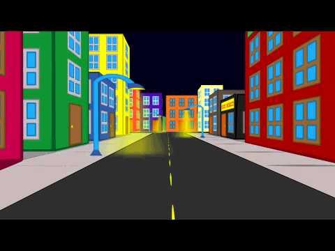 3 D City Street Anime Studio 9 Pro Youtube