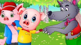 Три поросенка - Сказка для детей/ Мультфильмы для детей/ Машулины сказки / Сказки для малышей