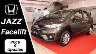 New HONDA JAZZ facelift : changes & improved updates, Prices