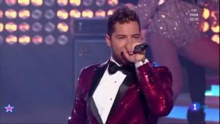 David Bisbal - Fiebre - Feliz 2017  tve  (La 1 HD)