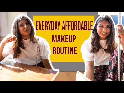 My EVERYDAY AFFORDABLE Makeup Routine under 10 minutes | Cherry Jain