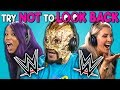 WWE Superstars React To Try Not To Look