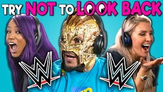 wwe-superstars-react-to-try-not-to-look-back-challenge