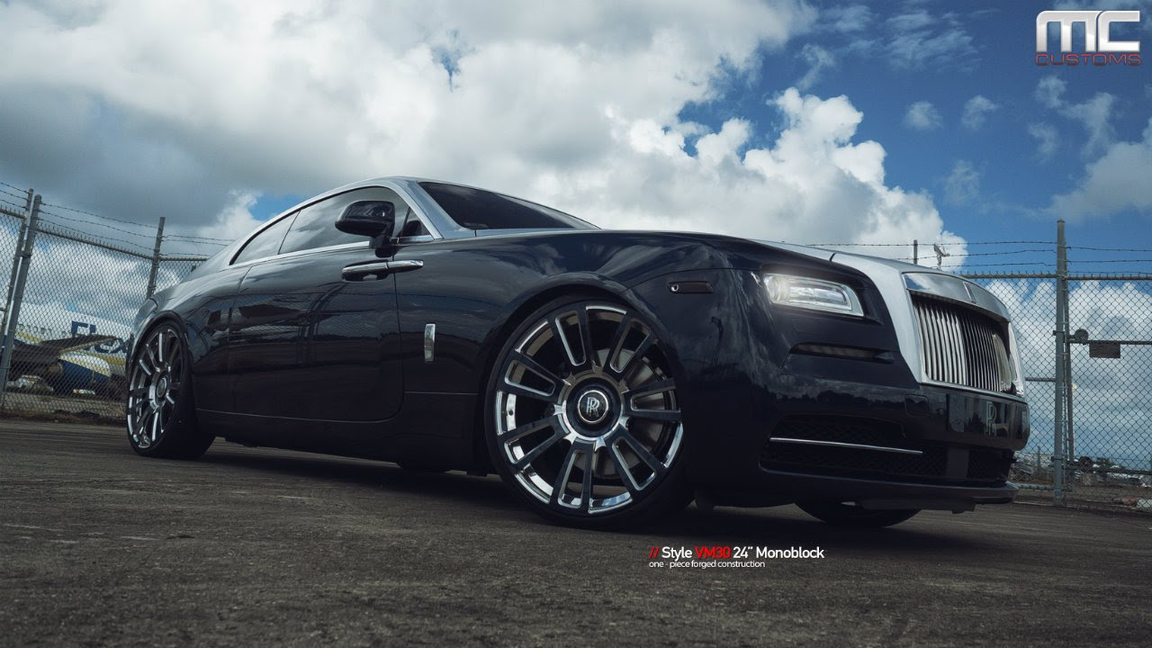 MC Customs Rolls Royce Wraith Vellano Wheels YouTube