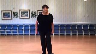 LONG HEELS, RED BOTTOMS LINE DANCE SLOW TEACH