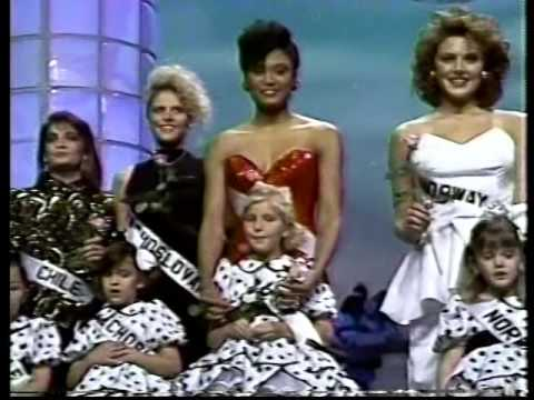 MISS UNIVERSE 1990 EVENING GOWNS & FINAL QUESTIONS
