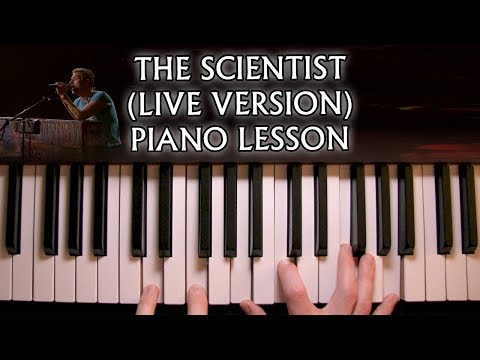 How to play Coldplay  The Scientist  Version on piano