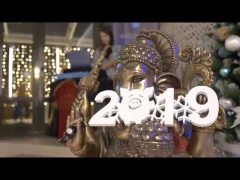 Новый год в центре йоги Прана. Как это было в 2019 году.