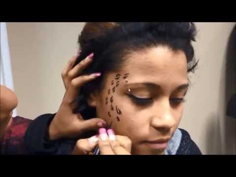 Cheetah Print Makeup Tutorial