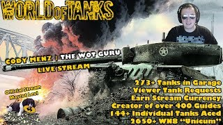 World of Tanks Live Stream [WoT Guru] [279 Tanks] [English - NA] [Viewer Tank Requests] 12/10/17
