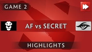 Team AD FINEM vs Team Secret [Game 2] The Boston Major 2016 - Dota Highlights